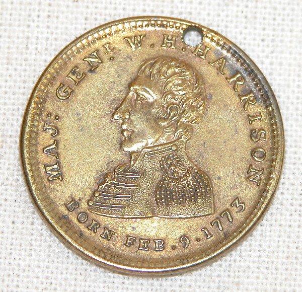 522: William Henry Harrison Token/Medal.