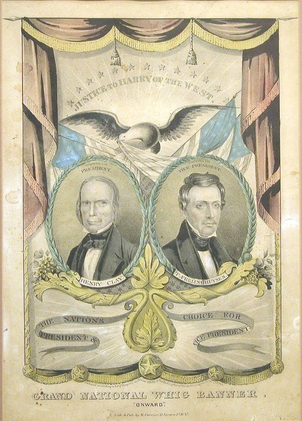 525: Currier Campaign Print - Whigs.