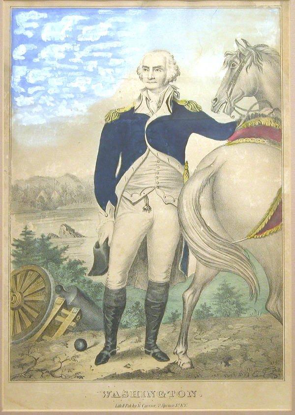 526: N. Currier of George Washington.