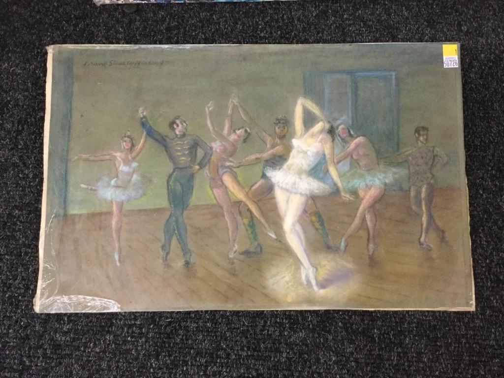 Frank Stanley Herring. Dancers.
