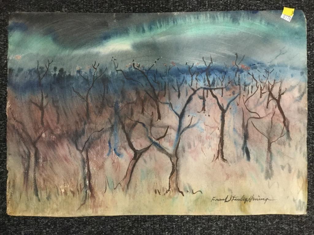Frank Stanley Herring. Trees.