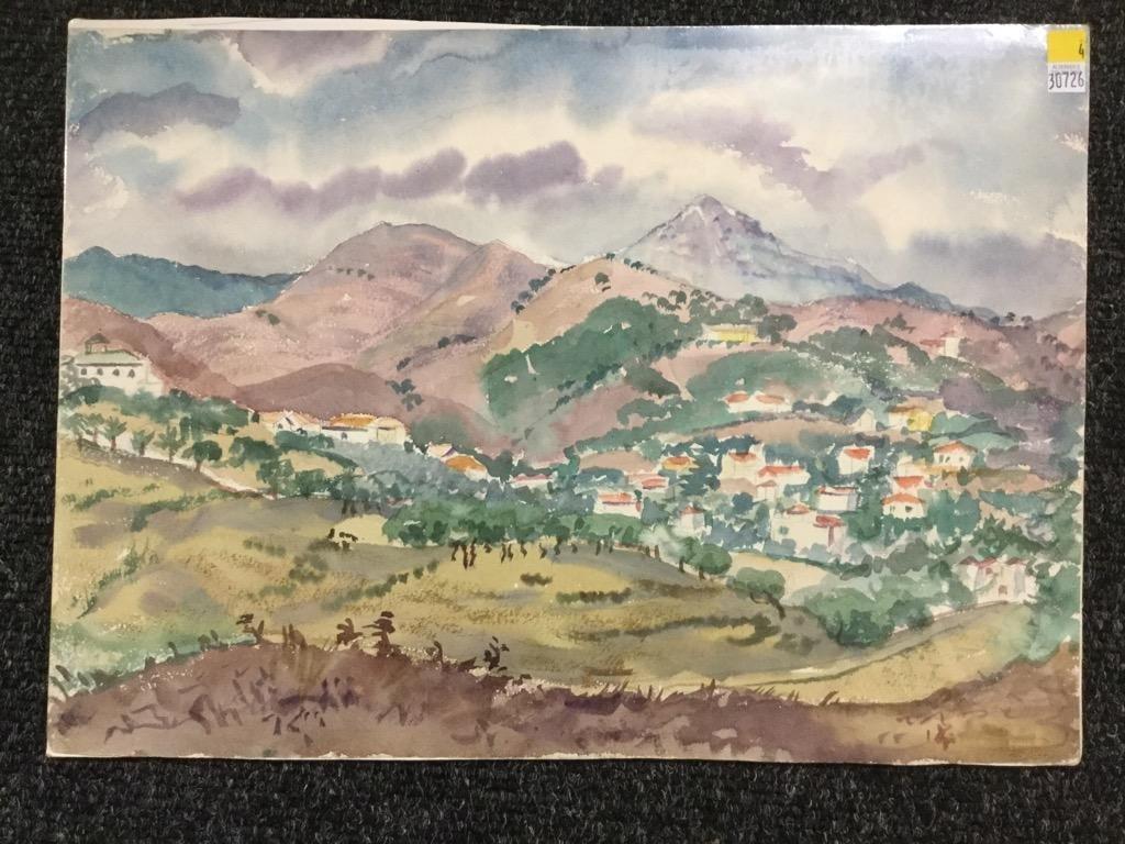 Frank Stanley Herring. Valley Landscape.