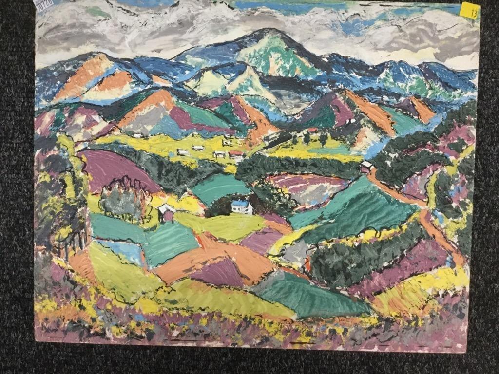 Frank Stanley Herring. Patchwork Fields.