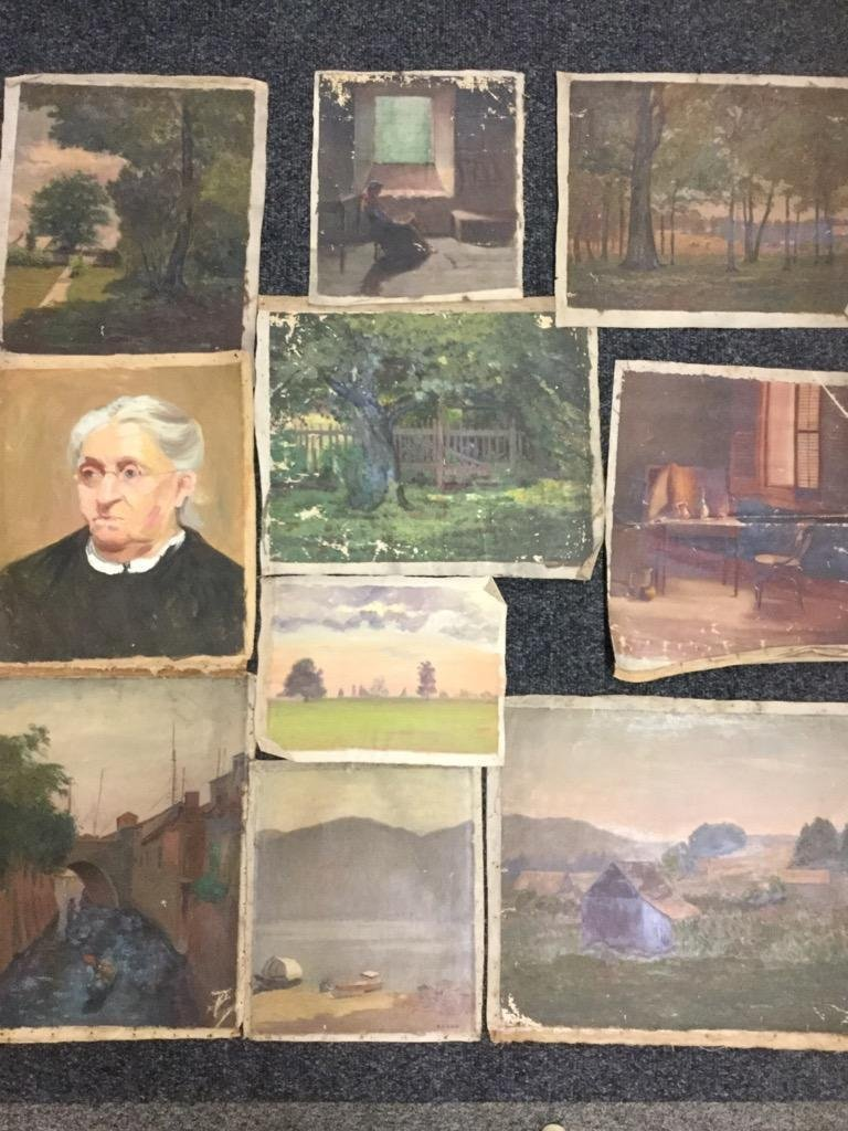Edith M Mann. Lot of 10 pieces.