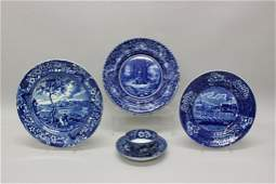 Grouping of Staffordshire Transferware.