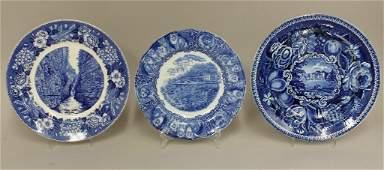 Grouping of Staffordshire Transferware Plates