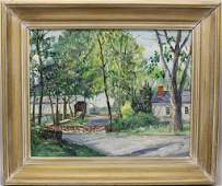 "Walter Emerson Baum (1884-1956, Pennsylvania) ""Covered"