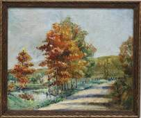 Walter Emerson Baum (1884-1956, Pennsylvania) Fall