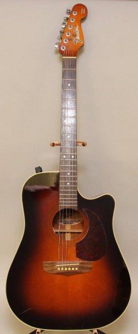 Fender La Brea Acoustic / Electric Guitar