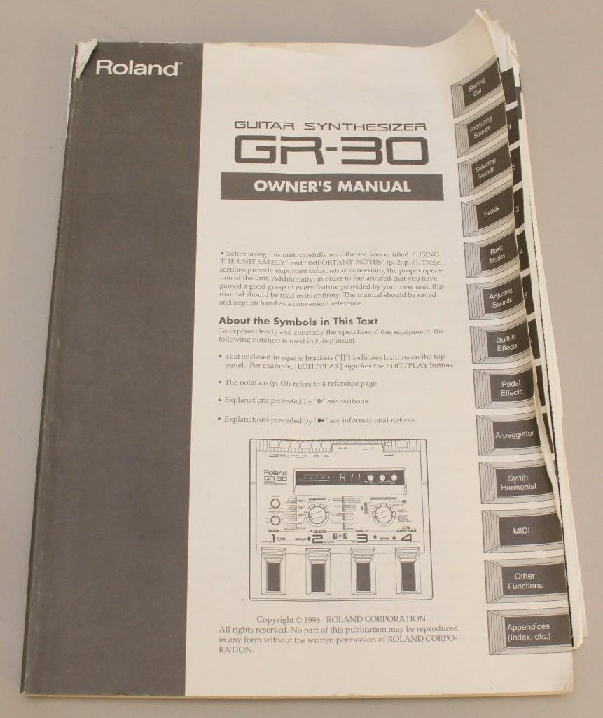 Roland GR 30 Guitar Synthesizer - 3