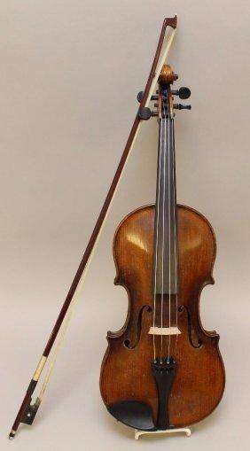 G.a. Pfretzschner, Markeneukirchen, Violin And Bow