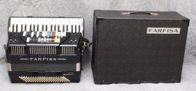 Farfisa Electric Accordion And Ampifier