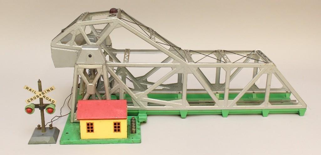 Lionel Trestle Lift Bascule Bridge
