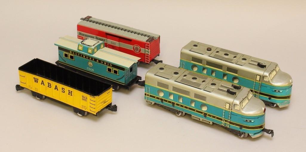 (5) Piece Train Grouping