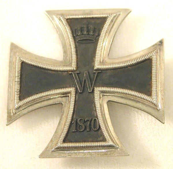 1: Prussian Iron Cross 1st Class 1870.