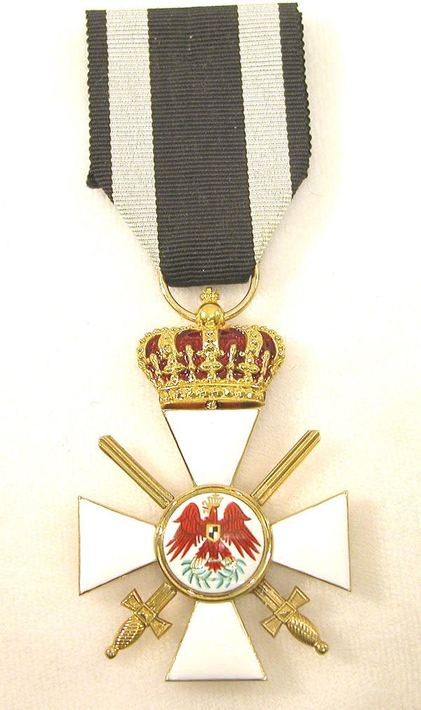5: Prussian Red Eagle Order-3rd Class w/Crown & Swords.
