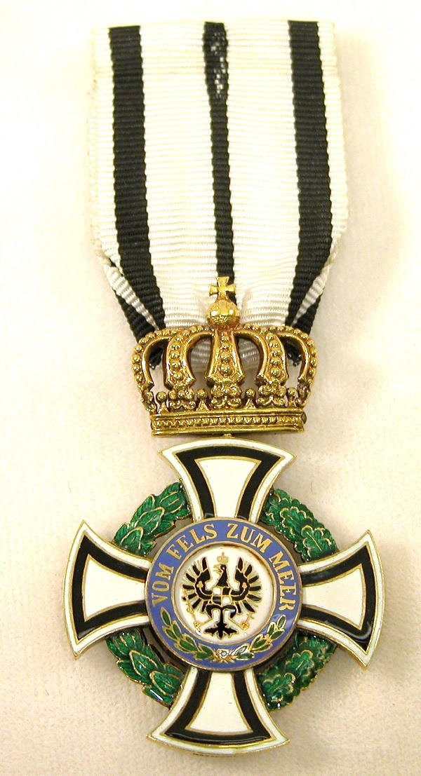 6: Prussian Order of the Royal Hohenzollern Houseorder.