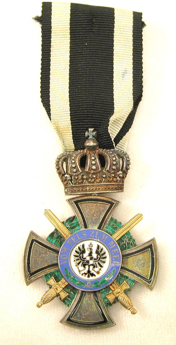 7: Prussian Order of the Royal Hohenzollern  Houseorder