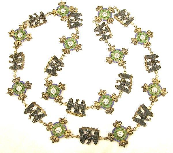 "8: Prussian Order of the Black Eagle-""Prinzen"" size Col"
