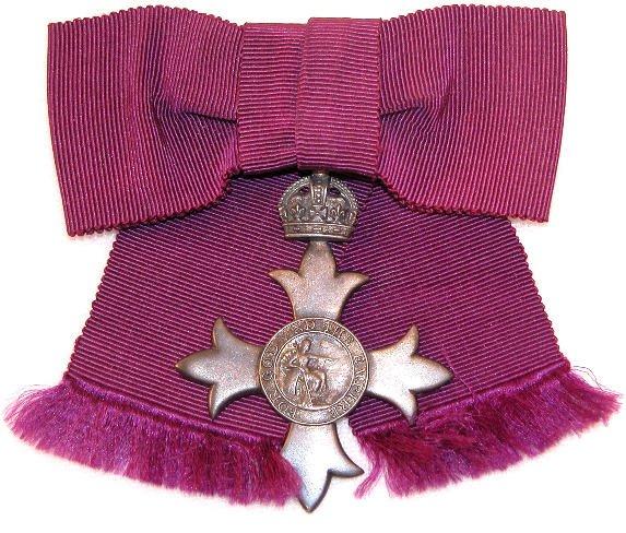 9: British Order-MBE.