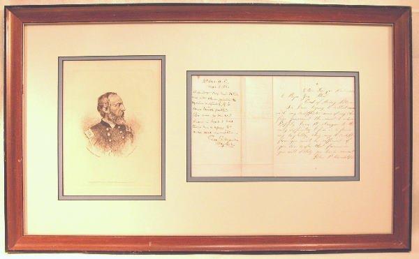 17: Autograph of George Gordon Meade.
