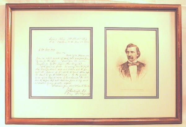 18: Autograph of John Frederick Hartranft.