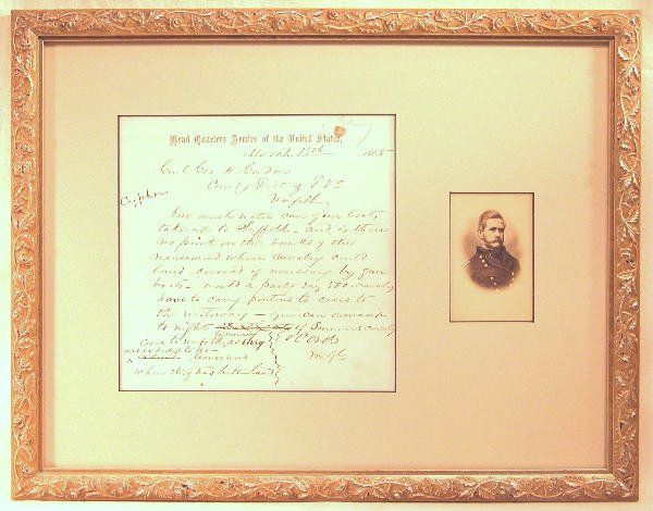 19: Autograph of Edward Ortho Cresap Ord.