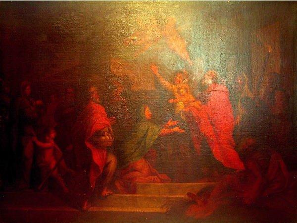 256: 18th Century Religious Painting.