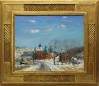 Walter Emerson Baum (1884-1956, Pennsylvania) Winter