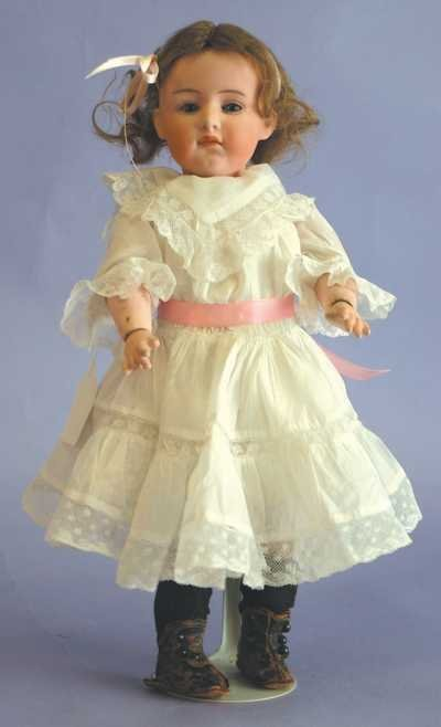 "7520: Antique Doll - 13"" 6970 3 1/2 Germany - G Heubach"