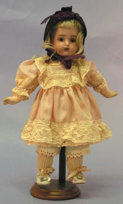 "7521: Antique Doll - 11"" L. HALBIG K*R 30"