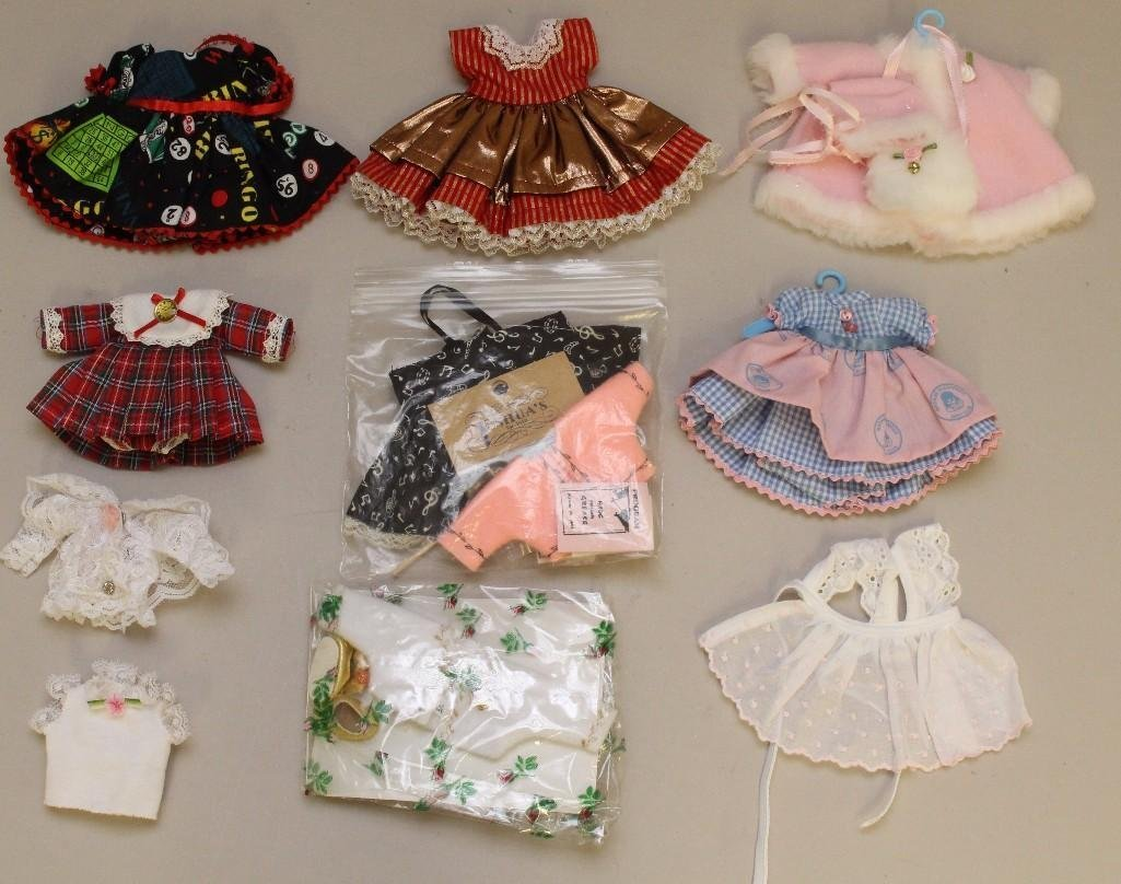 """LOT OF MINT TAGGED AND UNMARKED CLOTHING FOR 8"""" MADAME"""