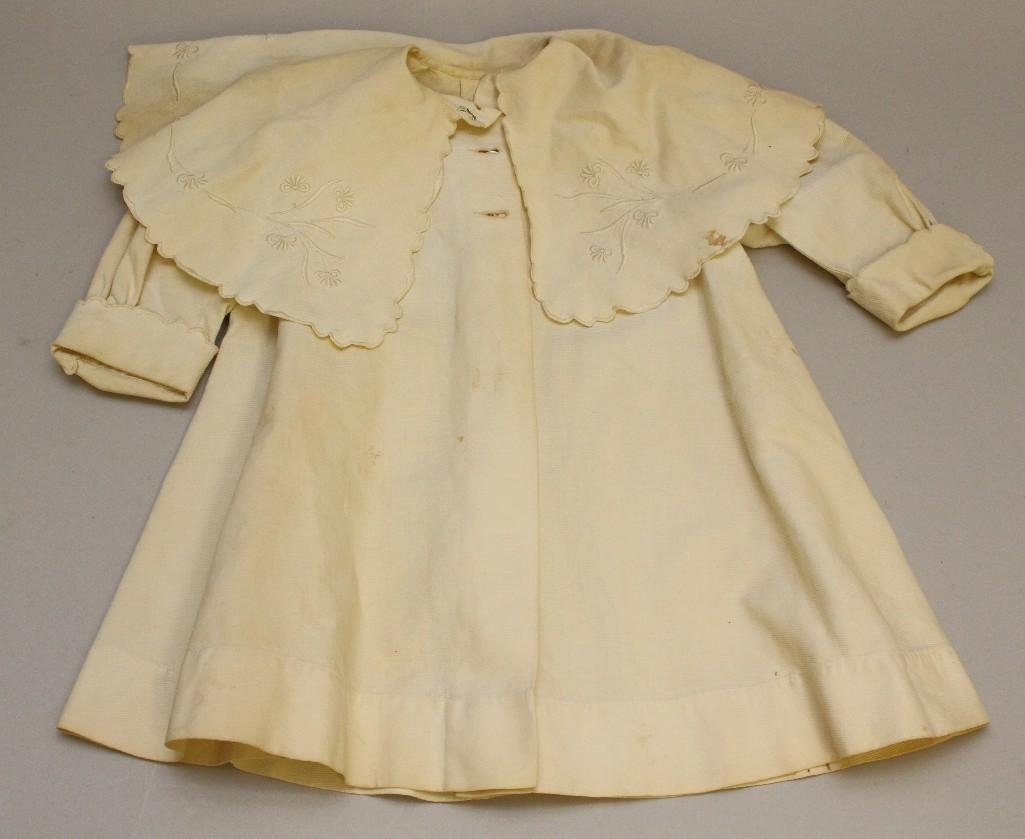 LOT OF CHILDREN'S ANTIQUE CLOTHING: (2) COATS, DRESS. - 4