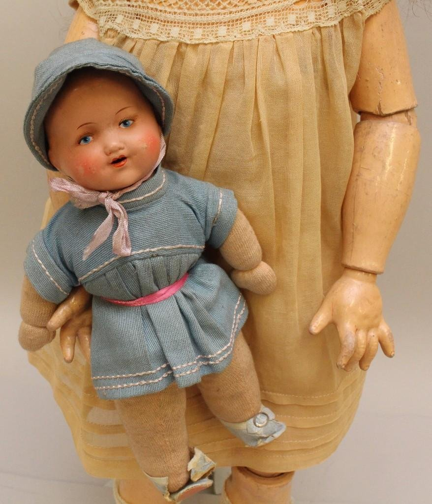 PAIR OF ARMAND MARSEILLE ANTIQUE DOLLS. - 3