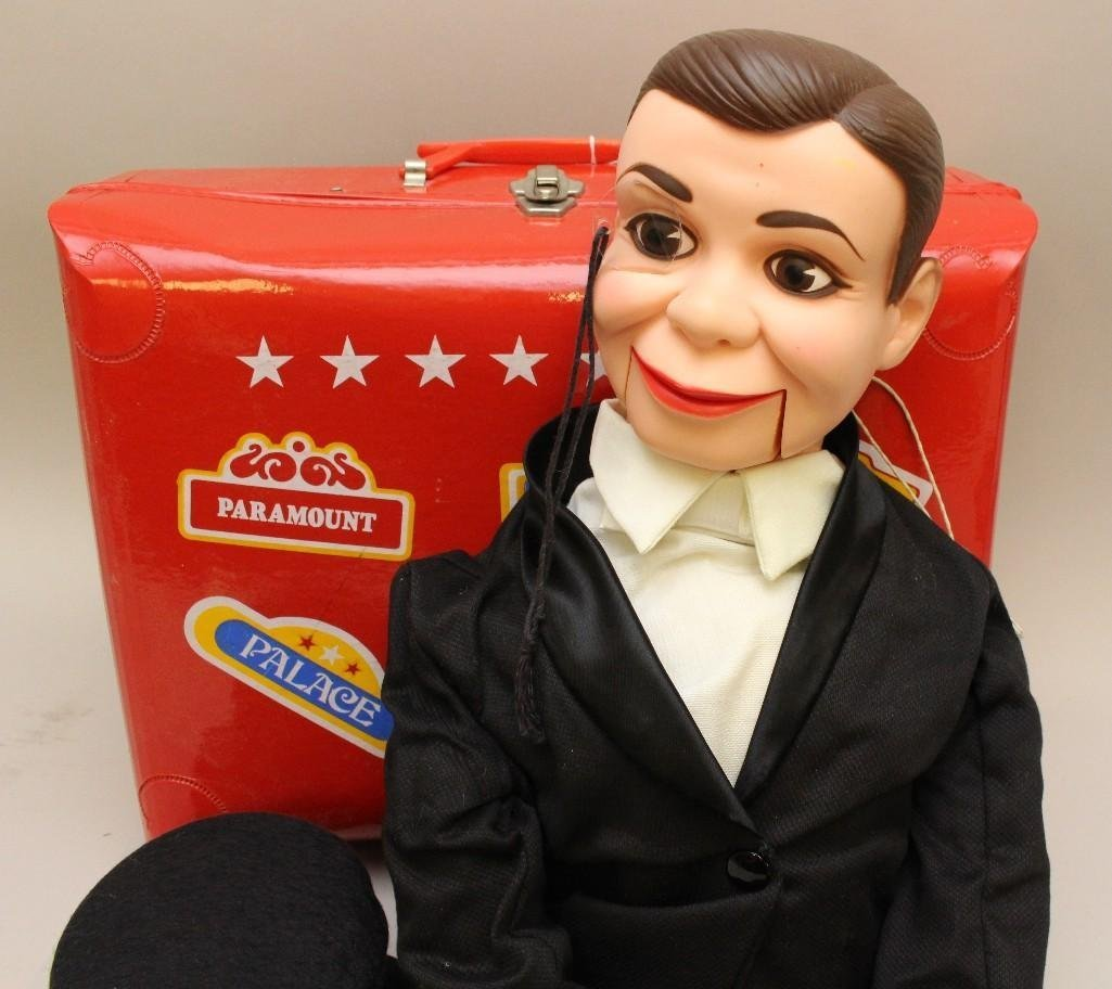 "PAIR OF ALL ORIGINAL VENTRILOQUIST DOLLS: 31"" - 2"