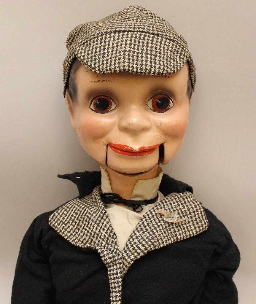 "PAIR OF ALL ORIGINAL VENTRILOQUIST DOLLS: 31"" - 3"