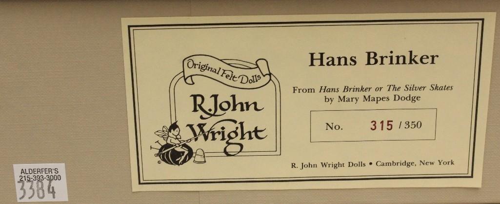"""18"""" MIB R. JOHN WRIGHT'S """"HANS BRINKER"""" 315/350. - 2"""