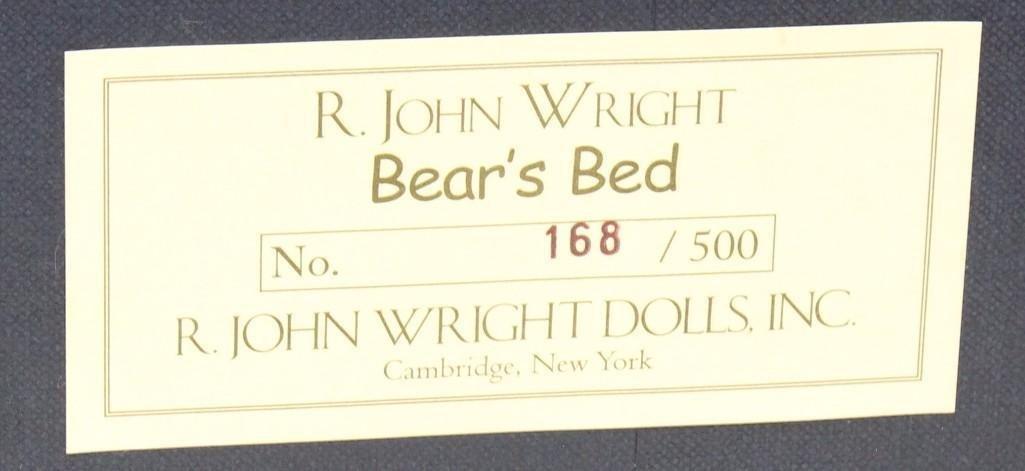 """MIB R. JOHN WRIGHT'S """"BEAR'S BED"""", 168/500. - 2"""