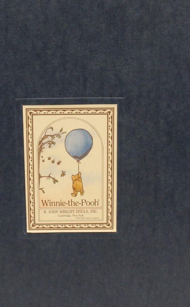 """14"""" MIB R. JOHN WRIGHT'S """"WINNIE-THE-POOH"""" (WITH HUNNY - 2"""