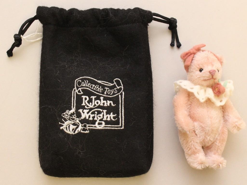 "4"" MINT IN BAG 2004 R. JOHN WRIGHT'S ""BITTY BEAR -"