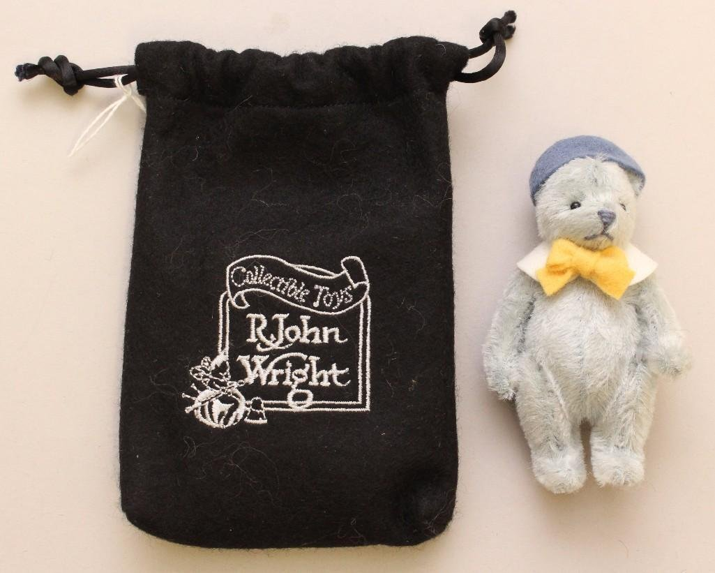 "4"" MINT IN BAG 2004 R. JOHN WRIGHT'S ""BITTY BEAR - BABY"