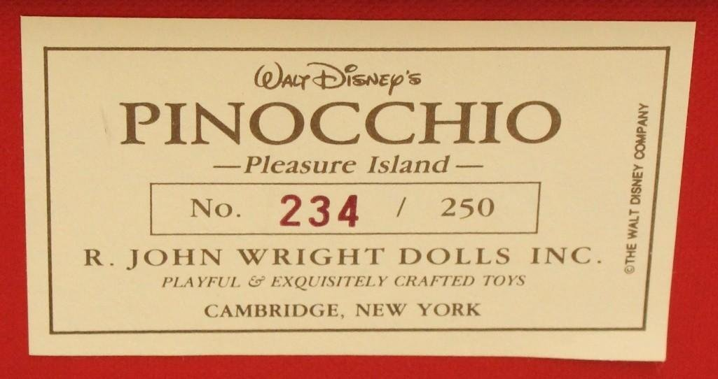 "9"" MIB 1992 R. JOHN WRIGHT'S ""PINOCCHIO - PLEASURE - 2"