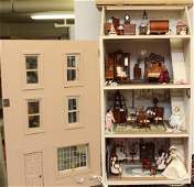 CONTEMPORARY TOWN HOUSE DOLL HOUSE ELECTRIFIED BESPAQ