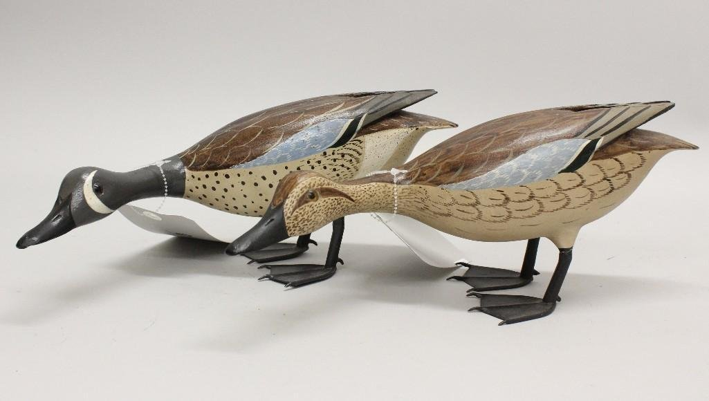 Blue Wing Teal Pair- Chas Moore