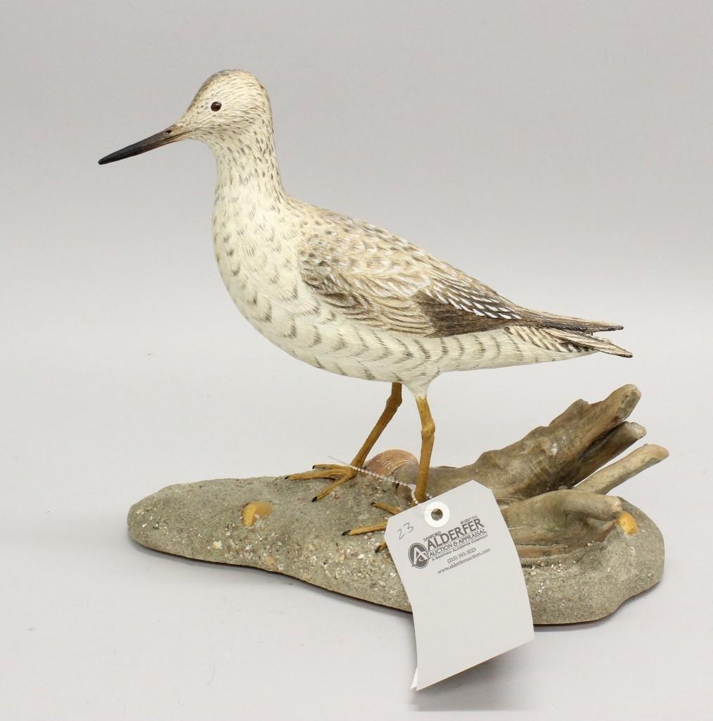 Yellowlegs shorebird- John Kouchinksy