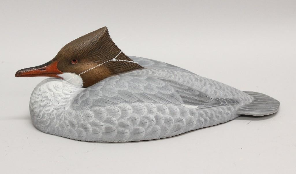 Common Hen Merganser Decoy - Roger Anderson - 2