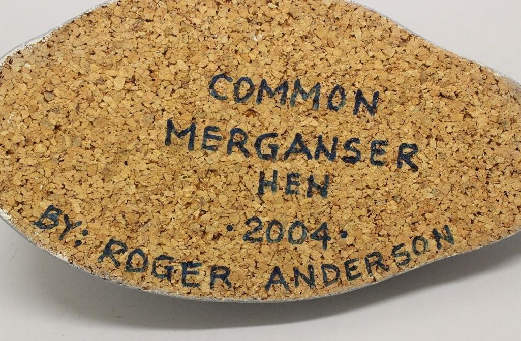 Common Hen Merganser Decoy - Roger Anderson - 3