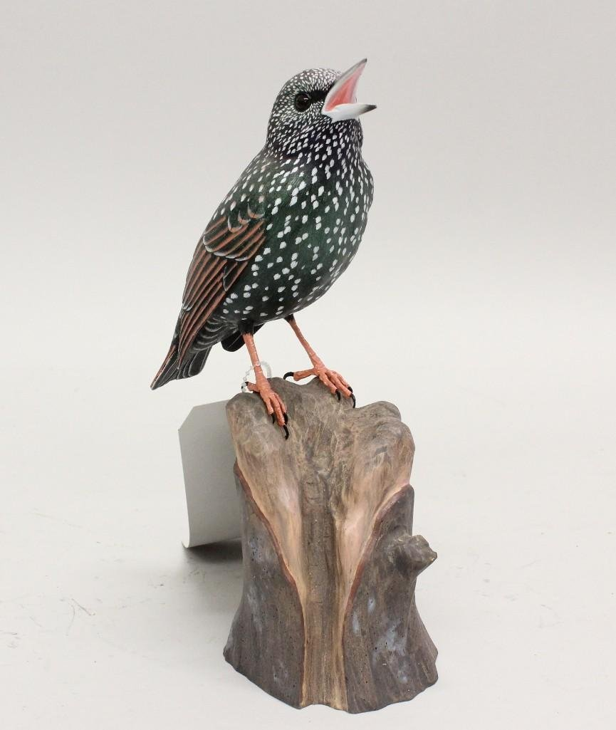 Tanager Carving