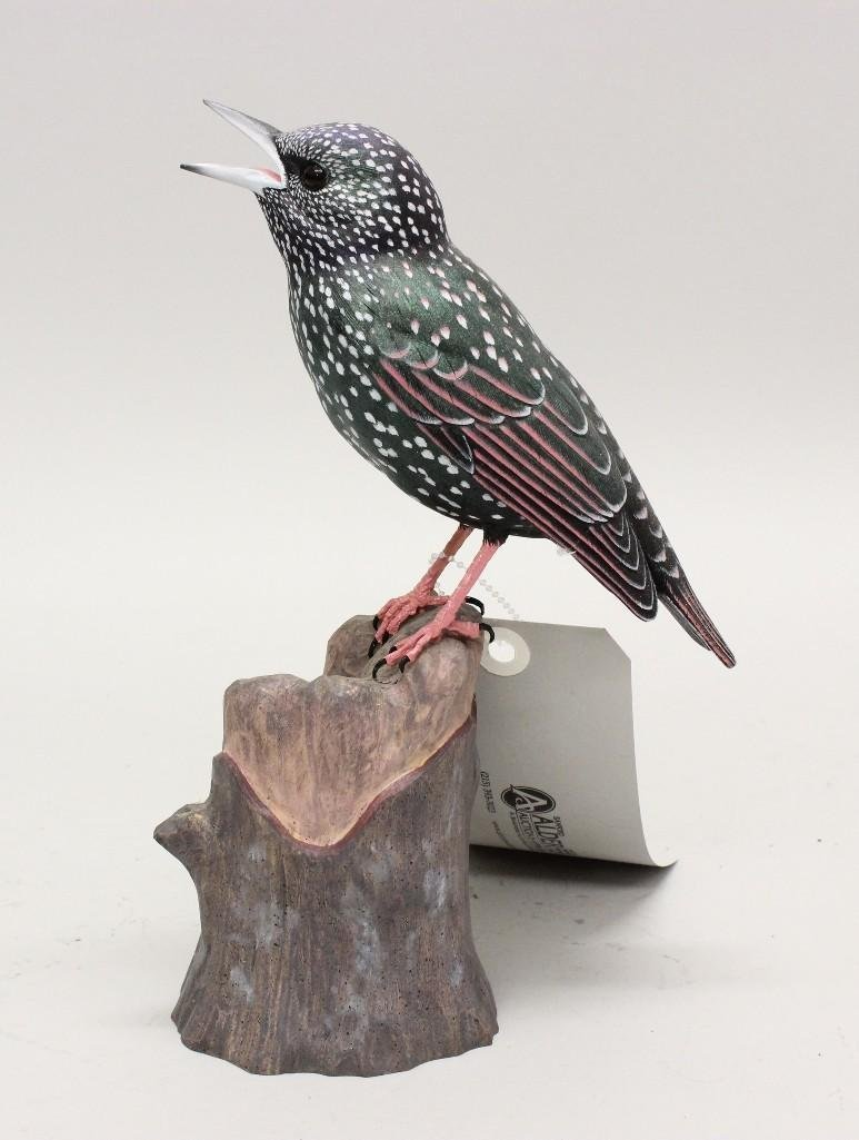 Tanager Carving - 2