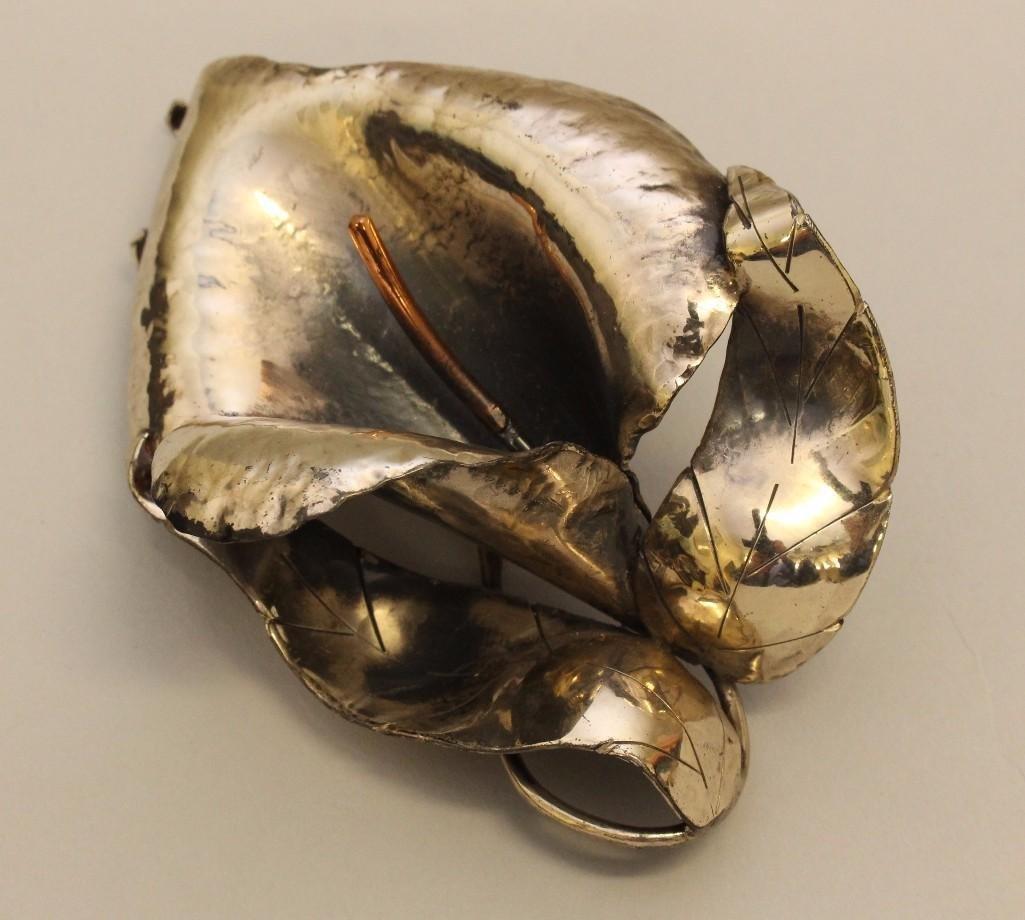 Sterling Silver Brooch - 3